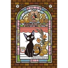 Kiki's Delivery Service Jiji Tending the Store Art Crystal Jigsaw Puzzle