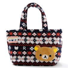 Rilakkuma Knit Mini Tote Bag
