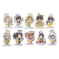 Bungo Stray Dogs Easter Ver. Acrylic Keychain & Stand Collection Box Set