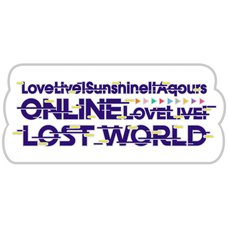 Love Live! Sunshine!! Aqours ONLINE Love Live! ~LOST WORLD~ Pin