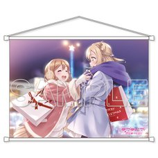 Love Live! Sunshine!! Aqours Hanamaru & Mari B2-Size Tapestry