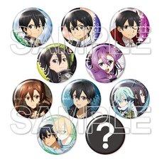 Sword Art Online Kirito Trading Pin Badge Vol. 2 Complete Box Set