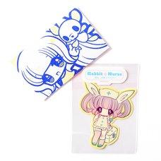 Rabbit Nurse Sticker