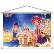 Love Live! Sunshine!! Aqours Hanamaru & Ruby B2-Size Tapestry