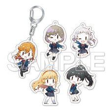 Love Live! Superstar!! Trading Acrylic Keychain Complete Box Set