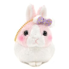 Usa Dama-chan Fuwamoko Ribbon Rabbit Plush Collection (Mini Strap)