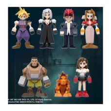 Final Fantasy VII Polygon Mini Figure Box Set (Re-run)
