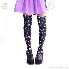 LISTEN FLAVOR Medical Pattern Knee-High Socks (Re-run)