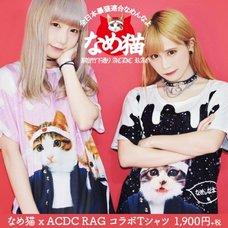 ACDC RAG Nameneko Melty Pattern T-Shirt