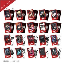 Persona 5 Strikers Polaroid-Style Trading Card Complete Box Set