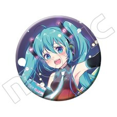 Vocaloid Hatsune Miku Button Badge: Wogura Ver.
