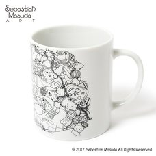6%DOKIDOKI Colorful Rebellion Graphic Mug