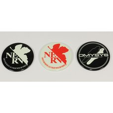 Evangelion Glow in the Dark Smartphone Sticker Set
