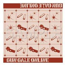 Sword Art Online Alternative: Gun Gale Online Jacquard Hand Towel