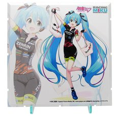 Dioramansion 150: Racing Miku 2019 Pit Optional Panel (Team UKYO Support Ver.)