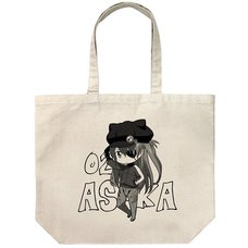 Evangelion Asuka: Deform Ver. Large Tote Bag