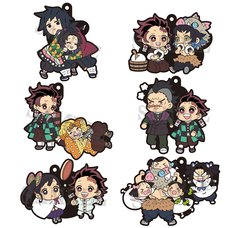 Buddy Colle Demon Slayer: Kimetsu no Yaiba Rubber Mascot Vol. 3 Box Set
