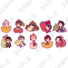 Bungo Stray Dogs Fruits Ver. Trading Rubber Strap Collection Box Set