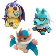 Monster Hunter Rise Plush Collection Vol. 3
