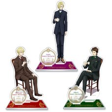 Moriarty the Patriot Acrylic Stand Collection