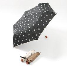 FLAPPER Buburin Paw Print Folding Umbrella