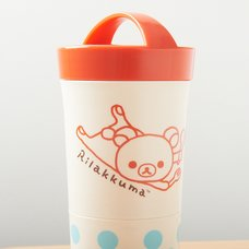 Rilakkuma Cylindrical Lunch Container
