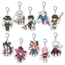 Pikuriru! Fate/Grand Order Trading Acrylic Keychain Charms Vol. 4 Box Set (Re-run)