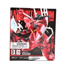 Mobile Suit Gundam Assault Kingdom EX 03: MSN-04 Sazabi