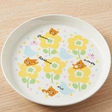 Rilakkuma & Birds Plate