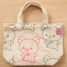 Rilakkuma Tote Bag (Pink & Gray)