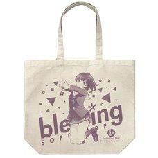 Saekano: How to Raise a Boring Girlfriend Flat Megumi Kato Natural Large Tote Bag
