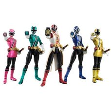 S.H.Figuarts SDCC Power Rangers Samurai Action Figure 5-Pack