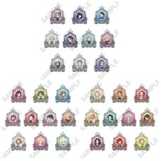 The Idolm@ster Cinderella Girls Clear Stained Charm Collection Vol. 2 Box Set