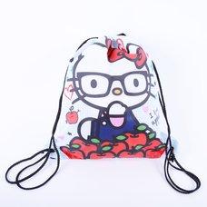 Hello Kitty Nerd I Love Apples Cinch Backpack