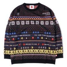 [PDS x Pac-Man] Master Black Sweater
