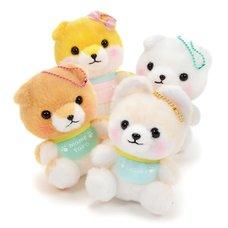 Mameshiba San Kyodai Baby Dog Plush Collection Vol. 2 (Ball Chain)
