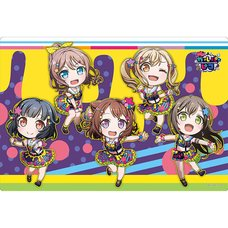 BanG Dream! Garupa Pico Poppin' Party Colorful Poppin! Rubber Playmat