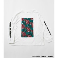 Attack on Titan R4G Titan Graphic Long Sleeve White T-Shirt