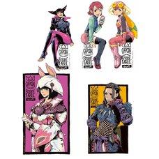 Capcom x B-Side Label Capcom Girls Sticker Collection Vol. 2