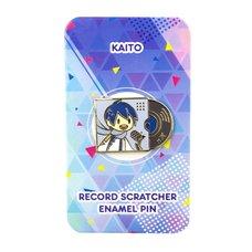 Kaito Record Scratcher Enamel Pin