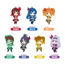 Nendoroid Plus Collectible Rubber Straps: The Idolm@ster 765Pro Allstars Revolution Night Box Set A