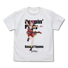 BanG Dream! Girls Band Party! Kasumi Toyama Full-Color T-Shirt