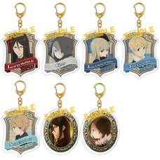 The Case Files of Lord El-Melloi II Acrylic Keychain Collection