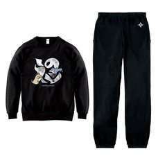 Monster Hunter Rise Monster Icon Sweatshirt & Sweatpants Set