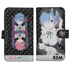 Re:Zero -Starting Life in Another World- Rem Notebook-Style Smartphone Case