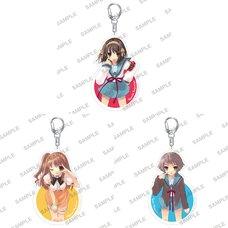 Haruhi Suzumiya Series Acrylic Keychain Collection