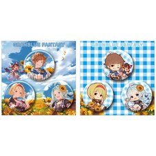 Granblue Fantasy Tin Badge Set