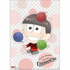 Osomatsu-san Knitting Wool Osomatsu Clear File