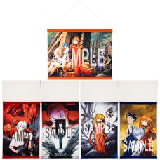 Yoshiyuki Sadamoto Neon Genesis Evangelion B3-Size Tapestry