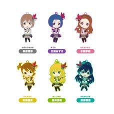 Nendoroid Plus Collectible Rubber Straps: The Idolm@ster 765Pro Allstars Revolution Night Box Set B